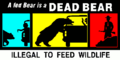 A fed bear is a dead bear.png
